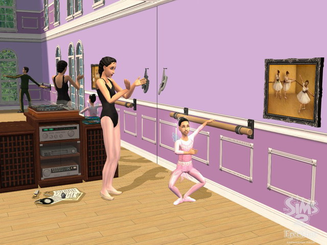 The Sims 2 Увлечения (ключ на e-mail). Нажмите для увеличения.